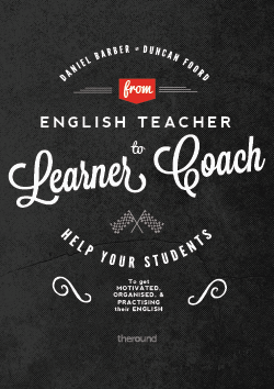 "Book Review: ""From English Teacher to Learner Coach"", by Daniel Barber and Duncan Foord"